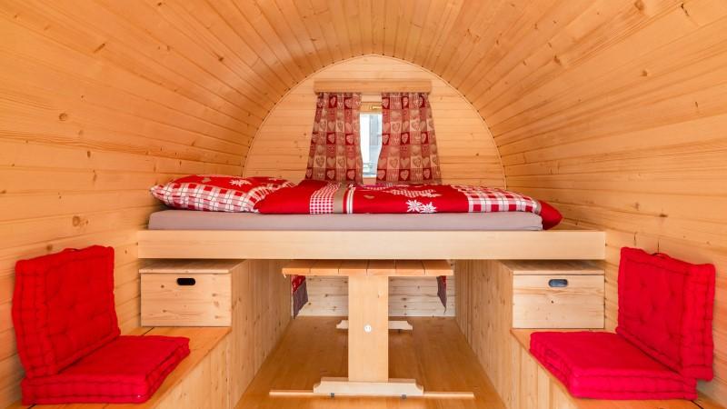 Iglu für Verliebte auf dem Camping Lazy Rancho in Unterseen direkt auf der Webseite buchen.