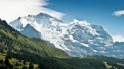 Das Jungfrau Massiv