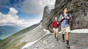 Wandern am Fusse des Eigers: Eiger Trail