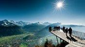 Skywalk auf dem Harder, über Interlaken