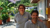 Ihre Gastgeber Aline und Stephan Blatter-Rieder