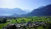 Blick Richtung Süden mit Eiger, Mönch und Jungfrau